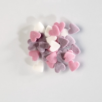 1,5 kg Sugar sprinkles hearts colorful