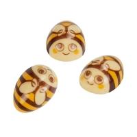 60 pcs Bee, white chocolate