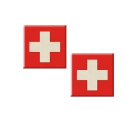 48 pcs Decor plaque, Switzerland