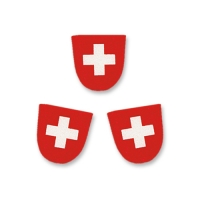 100 pcs Coat of Arms  Switzerland