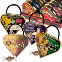 16 pcs Emotion-heart with sayings, assorted