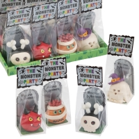 12 pcs Marzipan Monster in cellophane bag