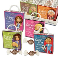 12 pcs Praline box  Super-Family  with sayings, with pralines