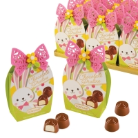 12 pcs Praline bag  Easter, filled with pralines