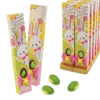 12 pcs Easter gift with chocolate eggs