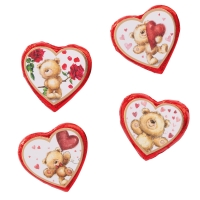 "Big praline hearts ""bears"""