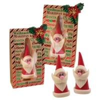12 pcs Marzipan Santa in box