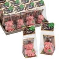 12 pcs Marzipan piglets, assorted
