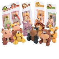 12 pcs Marzipan animals in cellophane bag, small