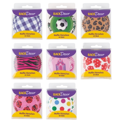 16 pcs Muffin cases