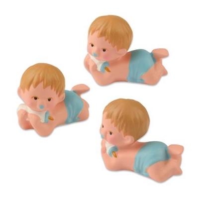 6 pcs Single baby, blue
