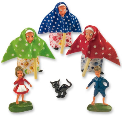 12 pcs Small witch group