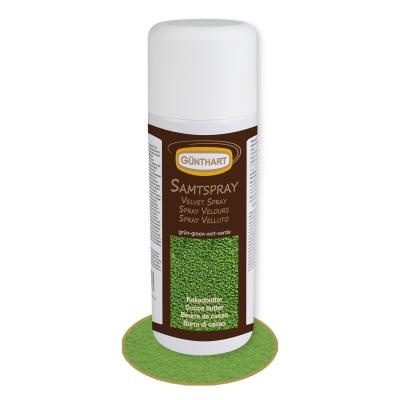 1 pcs Velvet Spray, green