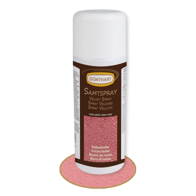 1 pcs Velvet Spray, pink